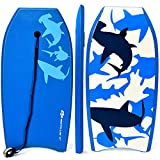 G Super Bodyboard Body Board EPS Core, IXPE Deck, HDPE Slick Bottom