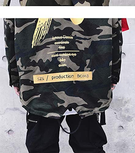 COTZFOZ Spring Camouflage Jacket Men Coat Streetwear Men Bomber Coat Harajuku Pilot Flight Jacket