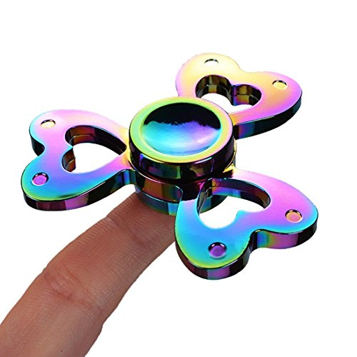 Hand Spinner, Fxexblin Fidget Spinner Fidget Toy Stress Reliever High-Speed EDC Focus Toy for Killing Time ADD, ADHD, Autism Adult Children – Absolute Best Hand Fidget Spinner