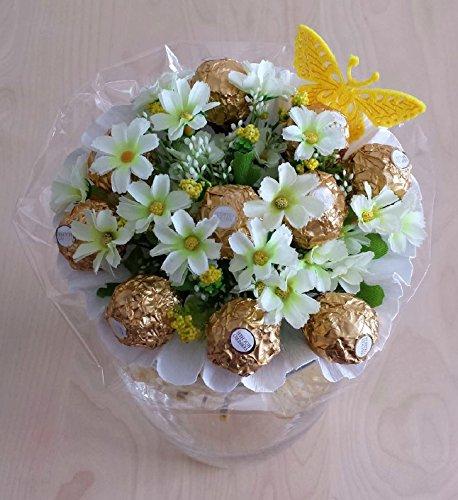 Pralinen Strauß Ferrero Rocher Weiß Geschenk Zum Muttertag