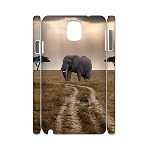 Elephant Custom 3D Cover Case for Samsung Galaxy Note 3 N9000,diy phone case ygtg525937