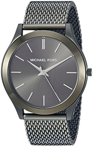 Michael Kors Men's 'Slim Runway' Quartz Stainless Steel Casual Watch, Color:Green (Model: - Kors Shop Michael