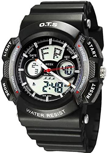 Youth outdoor sports watches/Fashion waterproof night electronic watch-O