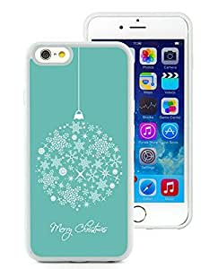 Customized iPhone 6 Case,Merry Christmas White iPhone 6 4.7 Inch TPU Case 13
