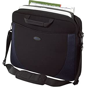 Targus Neoprene Slipcase Sleeve with Shoulder Strap, TSA Checkpoint-Friendly, Trolley Strap, Professional Business and…
