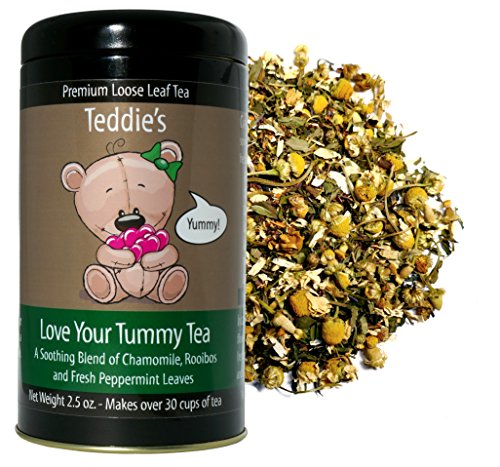 Teddie's Love Your Tummy Tea (Chamomile and Peppermint Herbal) ()