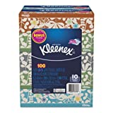 Kleenex 37378 Everyday Tissues, 2 Ply, White, 85 per Box, 10 Boxes per Pack (Case of 4 Packs)
