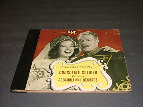 Chocolate Soldier Columbia Records 33 RPM 3 LP Set M-482 Nelson Eddy