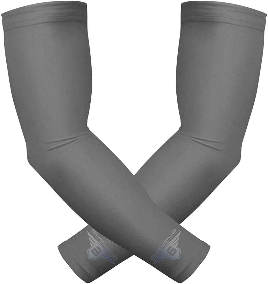 Sports Compression Arm Sleeves Baseball Basketball Shooter Youth /& Adult Size