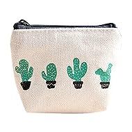 Gallity Women Girls Cute Fashion Change Pouch Key Holder Snacks Coin Purse Wallet Bag (A)