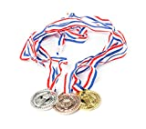 Torch award Medals (2 Dozen) - Bulk - Gold, silver, and bronze Olympic Style Award medals