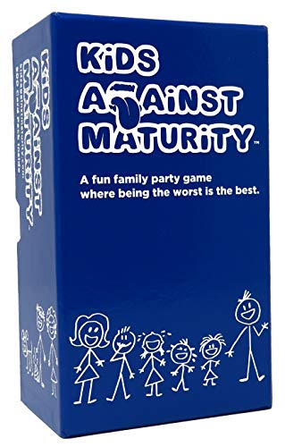 Kids Against Maturity: Card Game for Kids and Humanity, Super Fun Hilarious for Family Party Game Night (Games 10 Of Christmas)