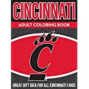 Cincinnati Adult Coloring Book: A Colorful Way to Cheer on Your Team! (Sports Team Adult Coloring Books) (Volume 1)