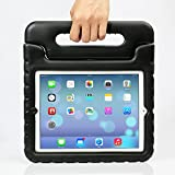 iPad MiNi 4 Case,iPad MiNi 4 Kiddie Case-Grand Sky-Shockproof Case Light Weight Kids Case Super Protection Cover Handle Stand Case for kids Children for Apple iPad mini 4(ipad mini 4, black)
