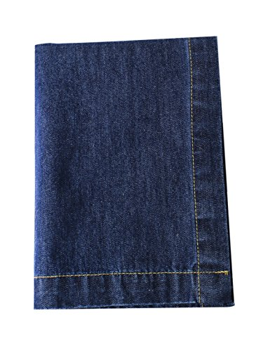 Table Runner, Denim Blue, 100% Cotton, Size 14 x 72 Inch,for Dinning, Wedding & Parties