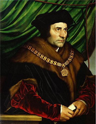 Oil Painting 'Hans Holbein - Sir Thomas More, 1527-2' Printing On Perfect Effect Canvas , 24x31 Inch / 61x79 Cm ,the Best Foyer Artwork And Home Gallery Art And Gifts Is This Best Price Art Decorative Prints On Canvas 2' Stretcher Pad