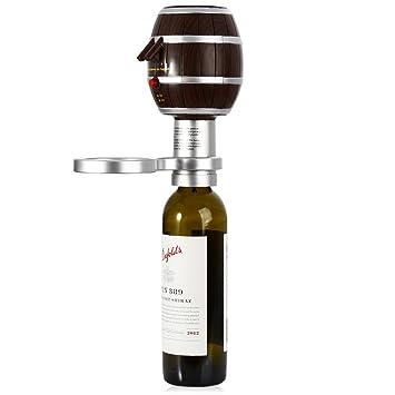Aireador de vino eléctrico, batería de litio integrada batería decantador de vino vertedor de vino