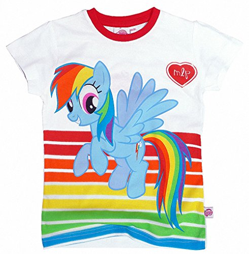 My little Pony Official Mädchen T-Shirt Short Sleeve Tee Design 58