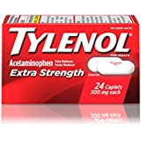 Tylenol Extra Strength Caplets, 500 Mg, 24 Count