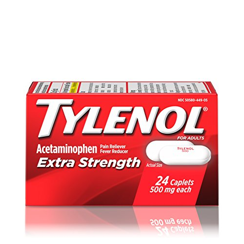 Amazon Tylenol Extra Strength Caplets Fever Reducer And Pain