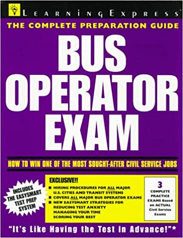 Bus operator exam national edition test preparation guides bus operator exam national edition test preparation guides learning express editors 9781576850466 amazon books fandeluxe Image collections