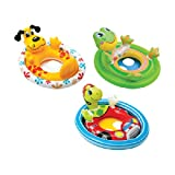 Intex 59570EP Inflatable See Me Sit Pool Ride for Age 3-4,Styles May Vary