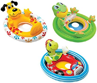 Intex Inflatable See Me Sit Pool Ride for Age 3-4 Duck