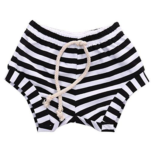 Striped Training French Drawstring Underwear