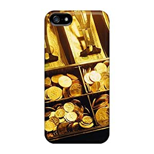 Mialisabblake Case Cover Protector Specially Made For Iphone 5/5s Gold Bullion