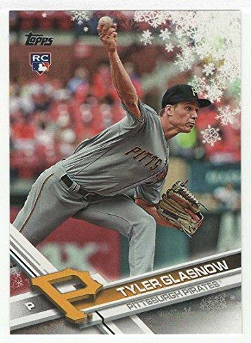 (Tyler Glasno (Baseball Card) 2017 Topps Walmart Holiday Snowflake # HMW 172 MT)