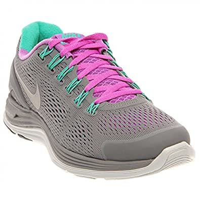 Nike Lady LunarGlide+ 4 Running Shoes - 11.5 - Grey