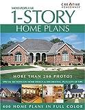 Most-Popular 1-Story Home Plans, Creative Homeowner Press Editors, 158011184X
