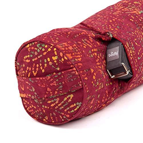 Yogamattentasche Bhakti Bag, bunt, Batik-Muster Design, 100% Baumwolle, für Yogamatten und Schurwollmatten bis 66 cm…