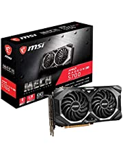 MSI Gaming Radeon Rx 5700 Boost Clock: 1750 MHz 256-bit 8GB GDDR6 DP/HDMI Dual Fans Crossfire Freesync Navi Architecture Graphics Card (RX 5700 Mech OC)