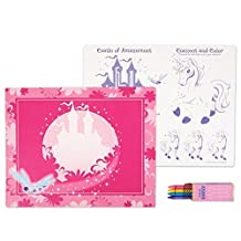 Enchanted Unicorn Party Supplies - Activity Placemat Kits (4)