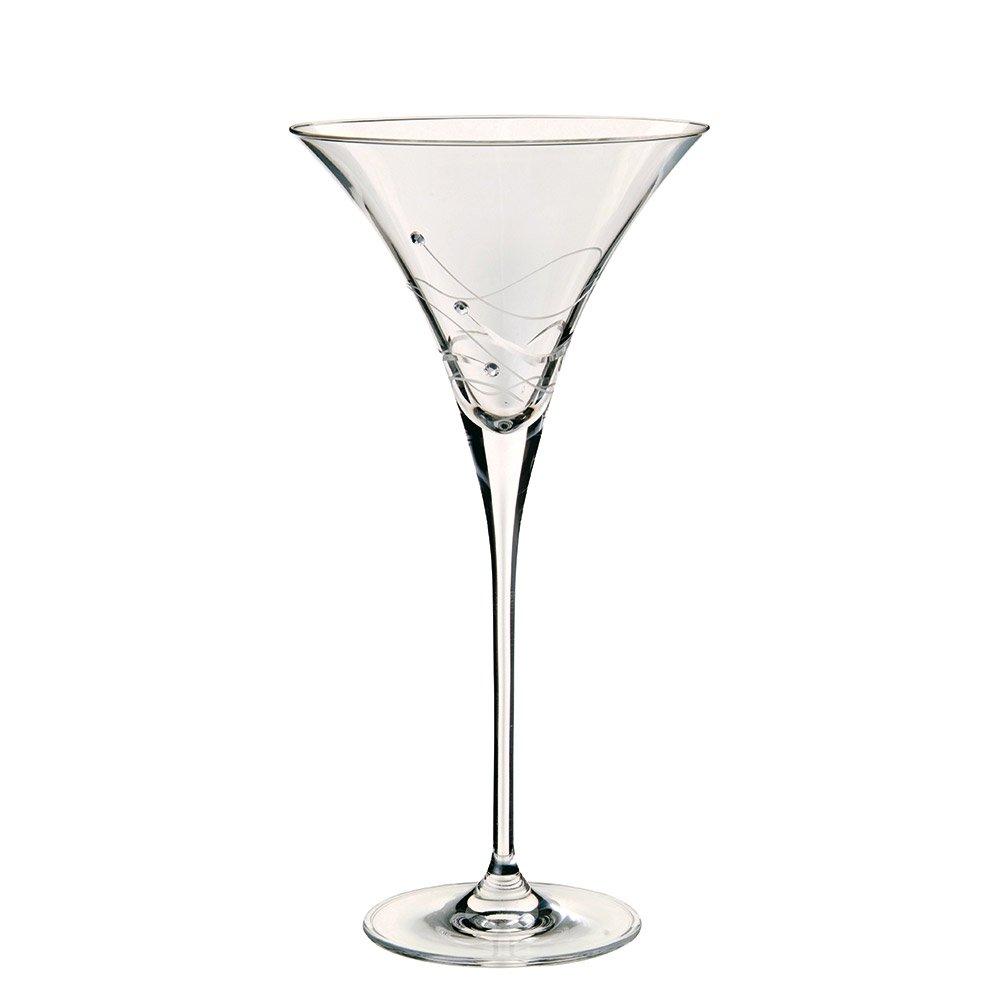 Dartington Crystal Glitz Martini Cocktail Glasses ST2557/6/P