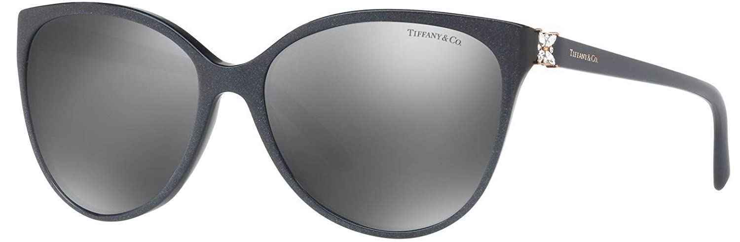 6f6bda84eb8 Amazon.com  Tiffany   Co. TF 4089 B Women Cat Eye Gradient Sunglasses  82116G  Clothing