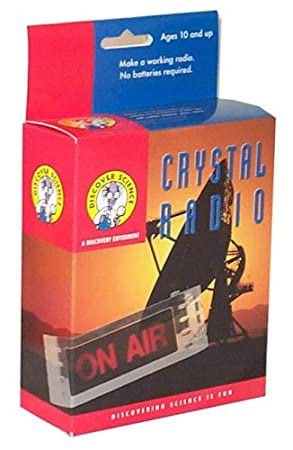 Toytopia Crystal Radio Kit: Amazon co uk: Toys & Games