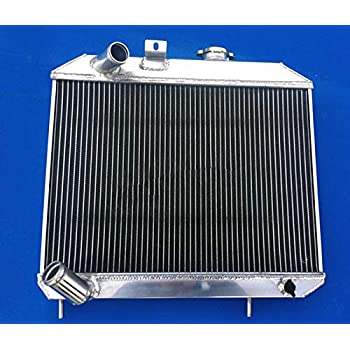 new ALUMINUM RADIATOR for 1941-1952 JEEP Willys 42 43 44 45 46 47 48 49 50 51