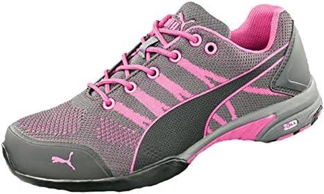Puma 642910.35 Celerity Knit Pink Sicherheitsschuhe für Damen, Low S1 HRO SRC, Größe 35