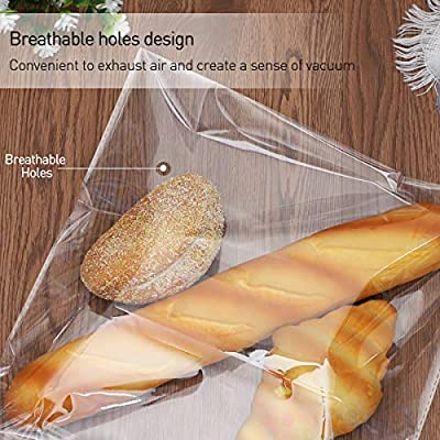 bestomz bolsas bolsas transparentes plástico sobres de ...