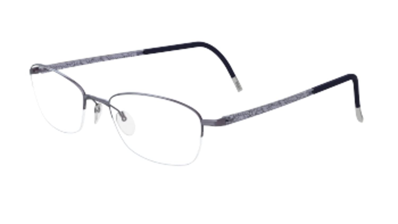 Amazon.com: Silhouette Eyeglasses Illusion Nylor 4453 White (6053 ...