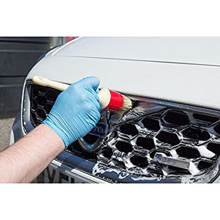 Arotom 5Pcs Soft Car Detailing Brushes Plastic Handle for Cleaning Dash Trim Seats Wheels Plastic Handle Brush
