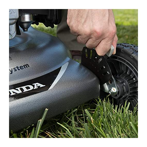 """Honda HRR216VYA 21'' 3-in-1 Self Propelled Smart Drive Roto-stop Lawn Mower with Auto Choke and Twin Blade System 3 Honda HRR216VYA 21"""" 3-in-1 Self Propelled Twin Blade Mulching Lawn Mower"""