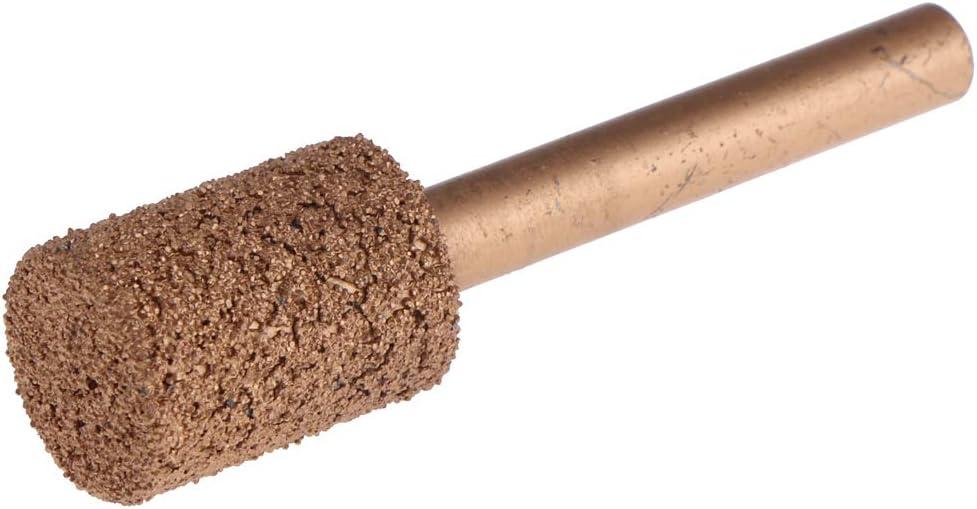 46 grain 20mm Sharplace T/ête de Meulage Roues de Polissage Perceuse Points Cylindriques Rev/êtus