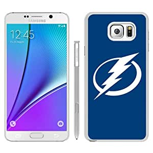 Fashionable Note 5 Case,Tampa Bay Lightning White Customized Case For Samsung Galaxy Note 5 Case