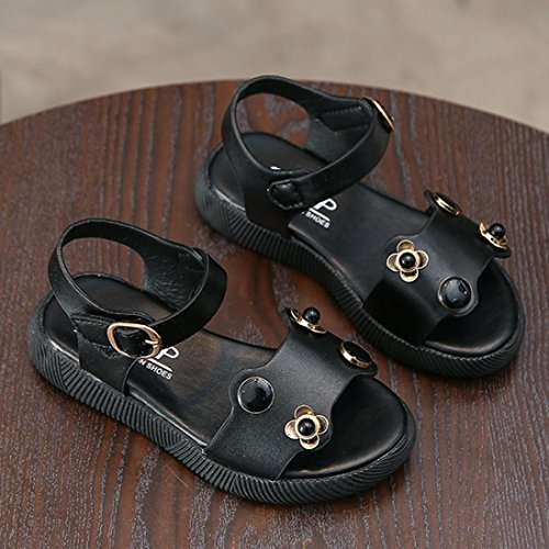 Hunpta Baby Sandalen, Jungen Mädchen Sommer Casual Sandalen Schuhe Schwarz