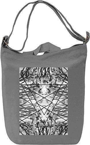 Statice Borsa Giornaliera Canvas Canvas Day Bag| 100% Premium Cotton Canvas| DTG Printing|
