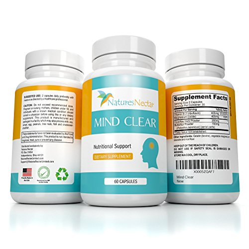 Supplement Riboflavin Prevention Natures Nectar product image