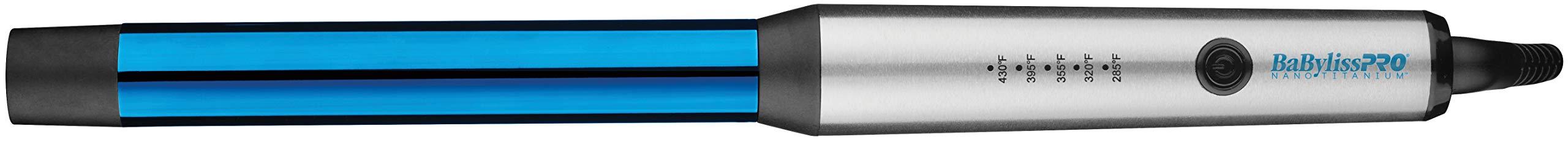 """BaBylissPRO BaBYlissPRO Nano Titanium 1"""" Curling Wand, 1 lb - 51ZCS4PImIL - BaBylissPRO Nano Titanium Curling Wand, 1 inch"""